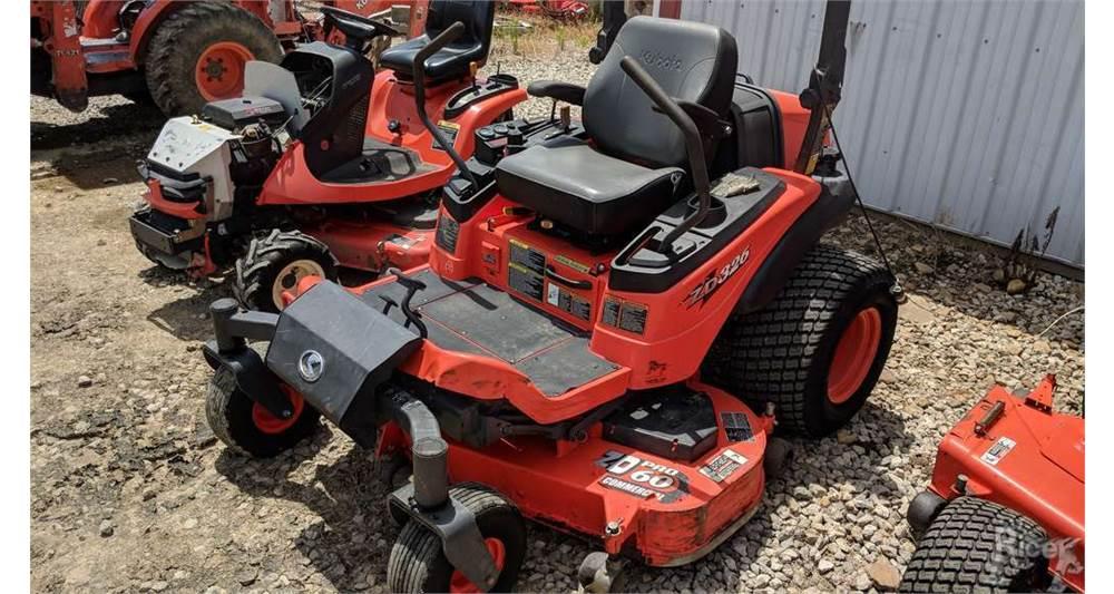 2009 Kubota ZD326P-60 Zero-Turn Mower #6989