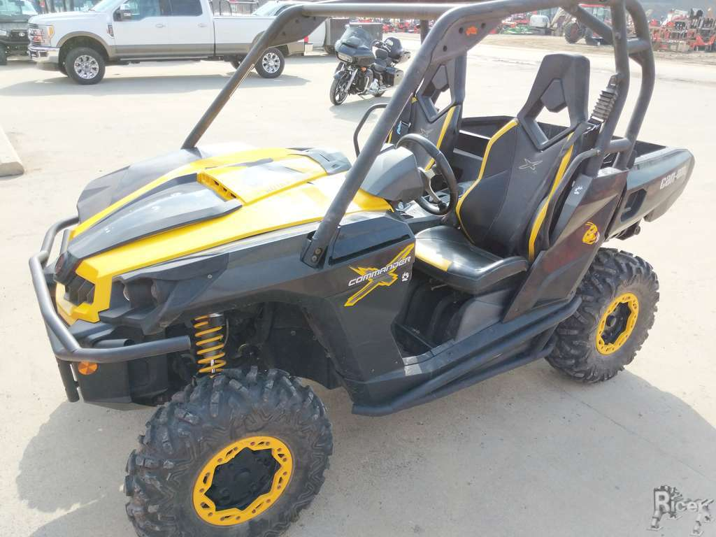 2012 CAN-AM ROTAX 1000 COMMANDER UTV #8290