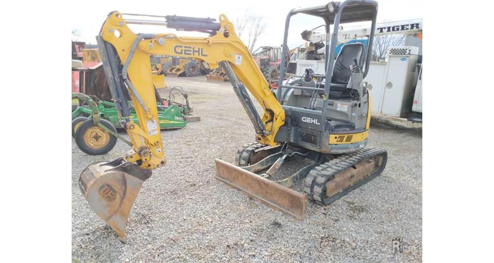 2014 Gehl Z27 Excavator #U1799
