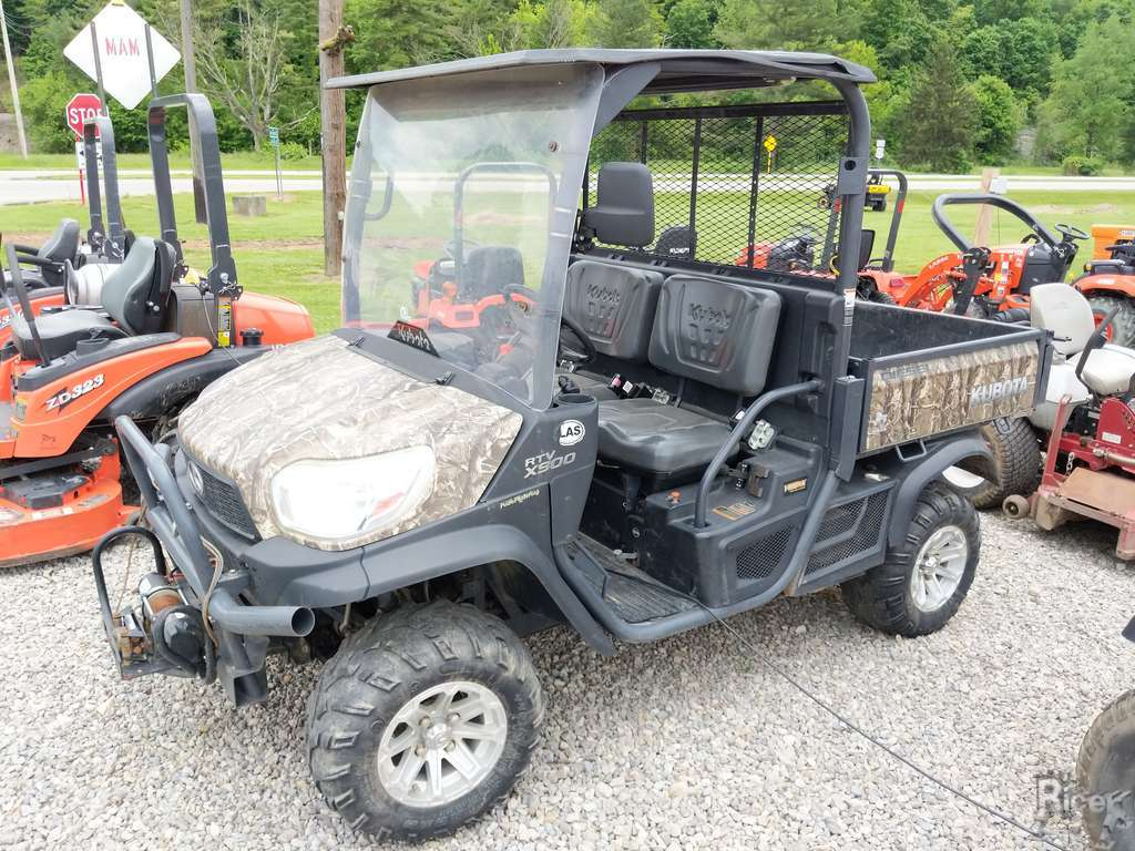 2014 KUBOTA RTV-X900 CAMMO UTILITY VEHICLE #1532