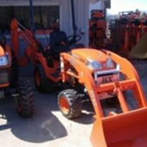 BX25 4WD TRACTOR W:LOADER & BACKHOE